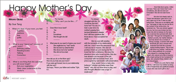 NOC Mother's Day